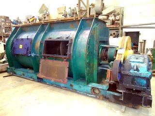 Misturador para Pó em aço carbono, 10.000 litros