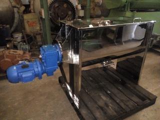 Misturador Ribbon Blender em aço inox, 270 litros