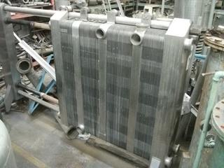 Pasteurizador em aço inox, 35.000 litros