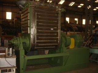Misturador Sigma em aço inox 304, 2.700 litros