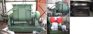 Misturador Sigma em aço carbono, 3.000 litros